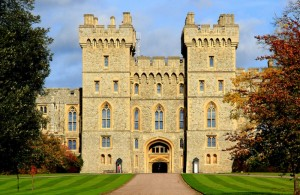 Windsor castle entrance